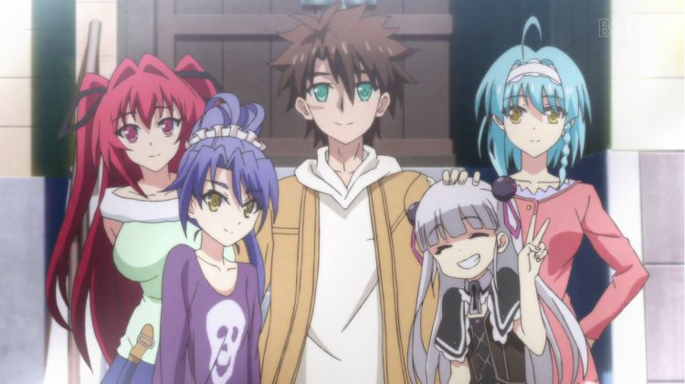Shinmai Maou no Testament - Anime Ecchi Terbaik